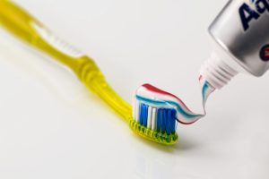 new dentist and fluoride toothpate